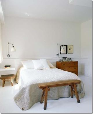 krukje + bankje slaapkamer